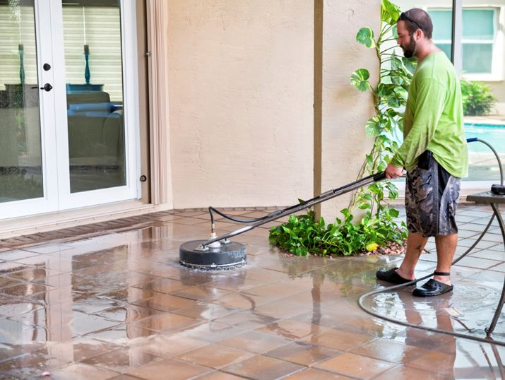 Commercial window cleaning power washing and concrete for What is the best way to clean concrete