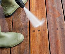 Full Deck Cleaning