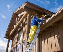 Large Home Eavestrough Cleaning